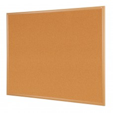 Wood Effect Framed Noticeboards