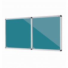 Shield Design Lockable Noticeboards