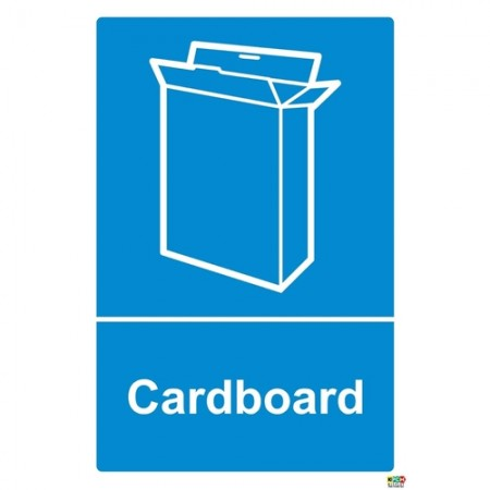 Cardboard Recycling Sign/Sticker