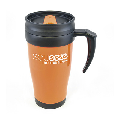 Fremont 450ml Solid Coloured Travel Mugs