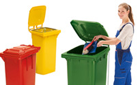 Waste bins & Recycling