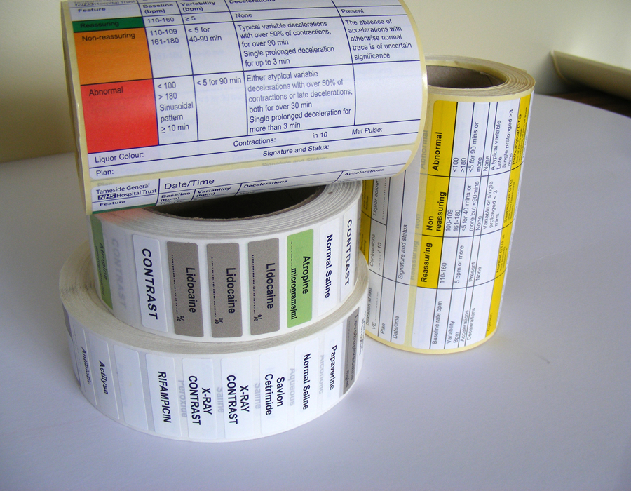 Medical Labels