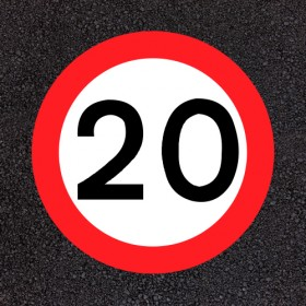 20mph Speed Rounel