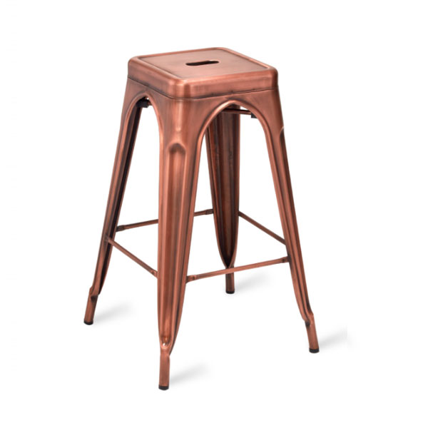 Paris High Stool Vintage Copper
