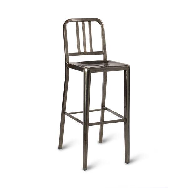 Toulon Steel High Stool