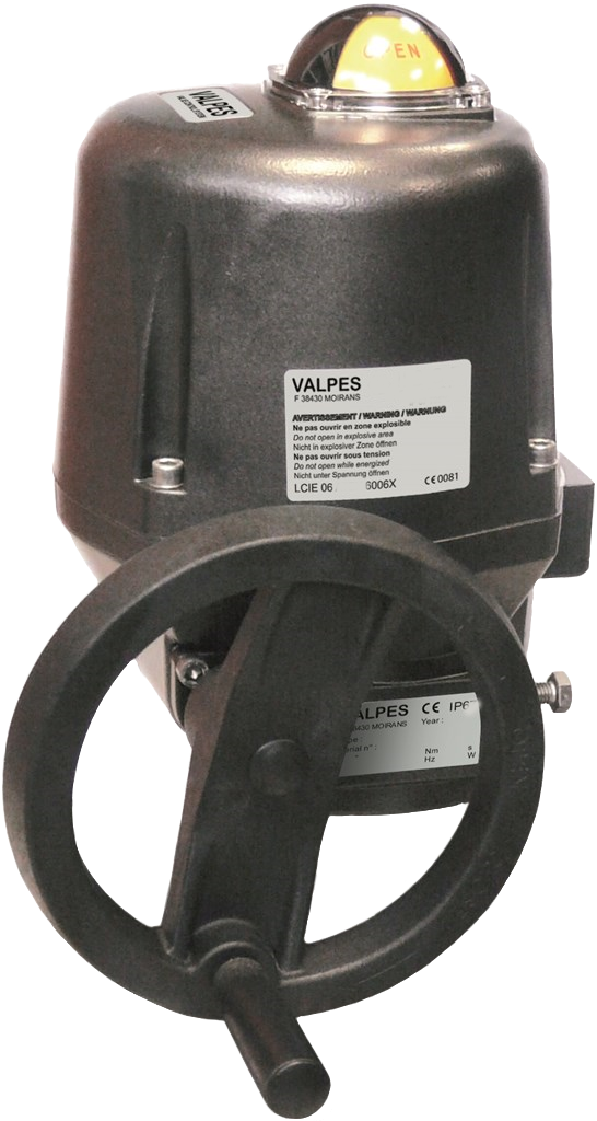 Valpes Electric Actuator – VR-VS – On-Off