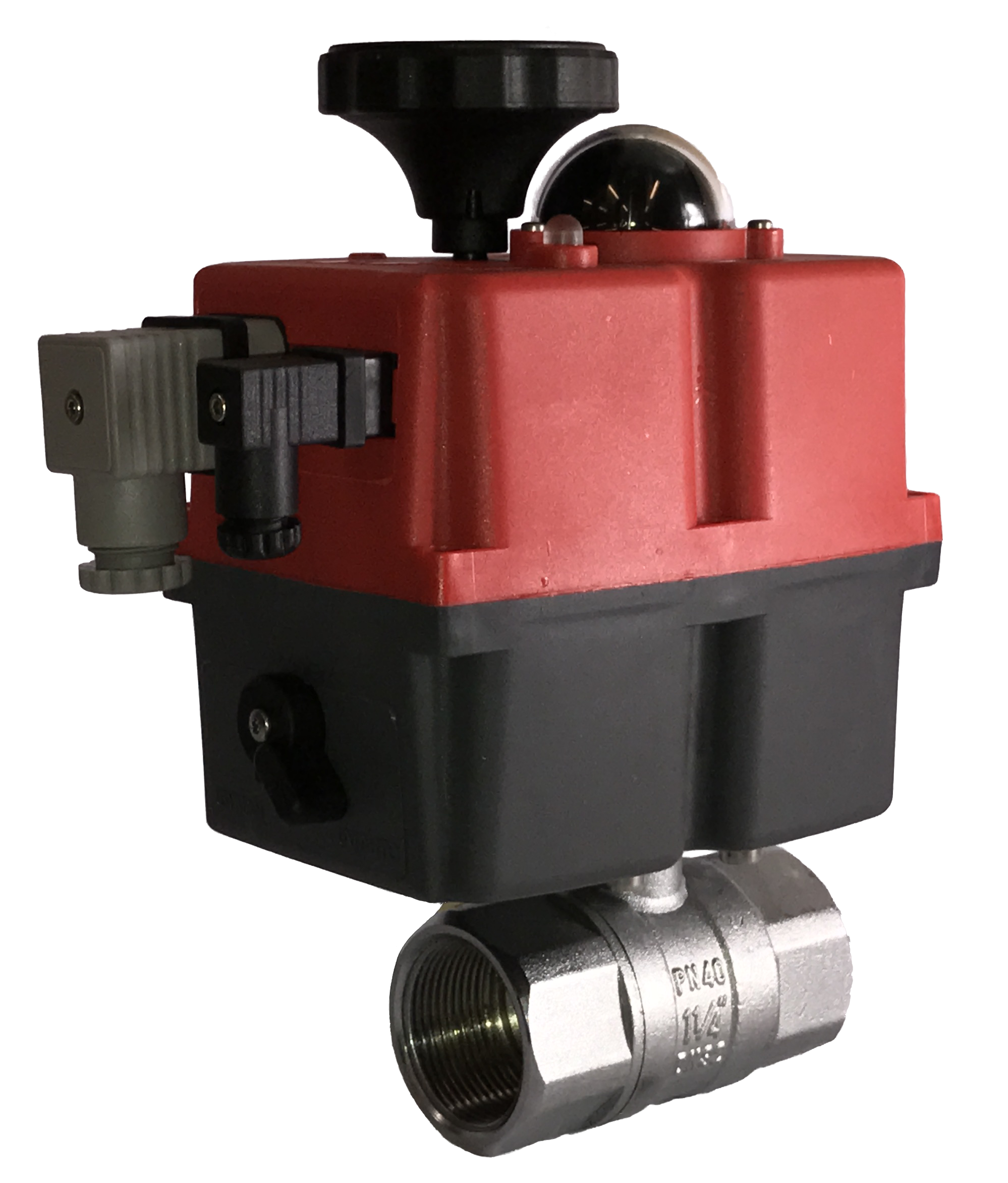 General service brass ball valves with J3CS electric actuator