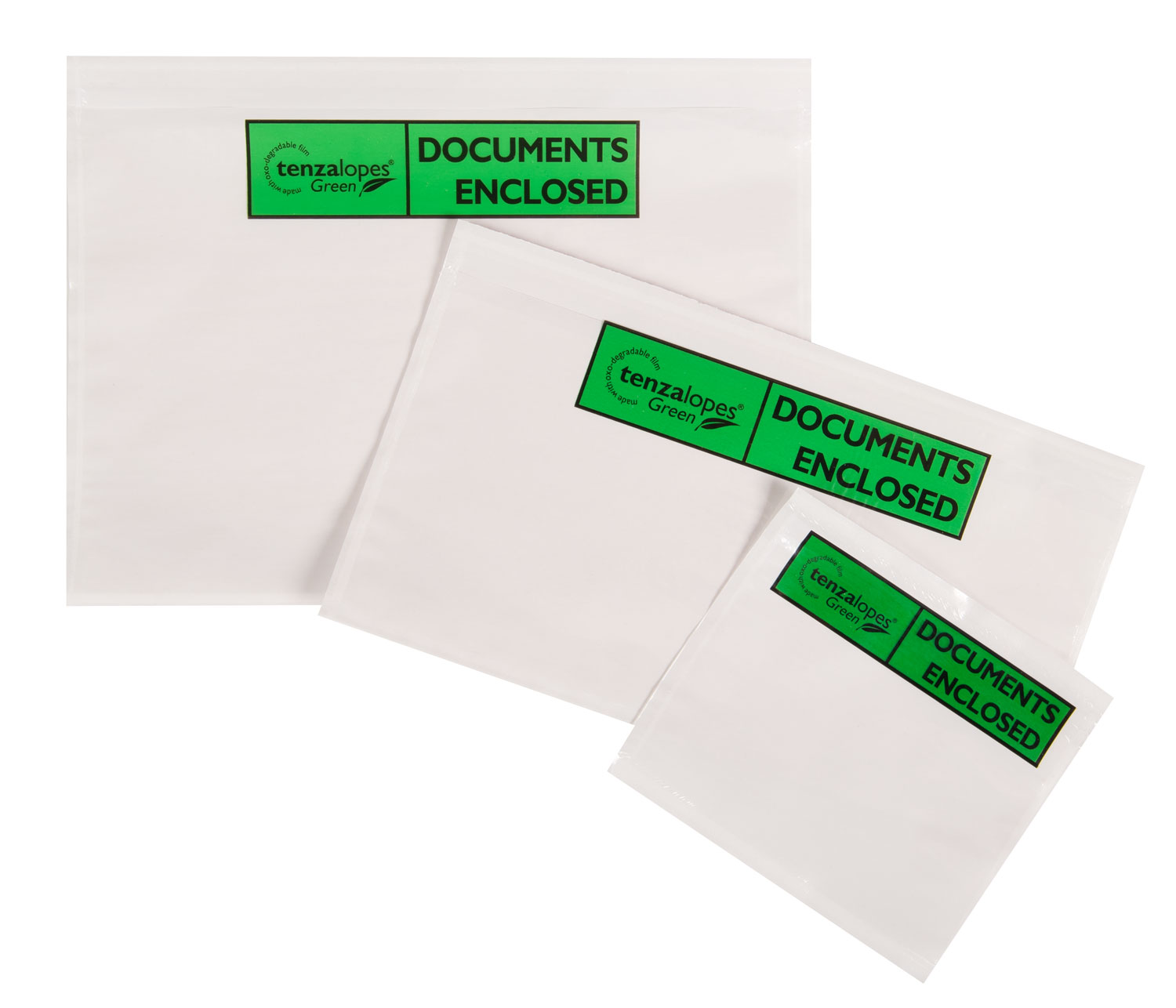 Tenzalopes Green Document Wallets, biodegradable, A5 size (printed DOCUMENTS ENCLOSED), Price per Box 1000