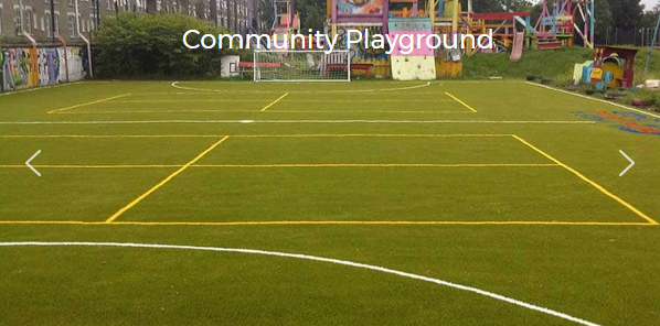 Artificial Grass Sports Pitches For School Playgrounds