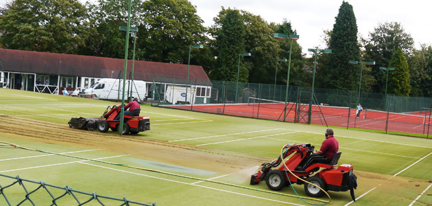 Synthetic Sports Surface Maintenance Services