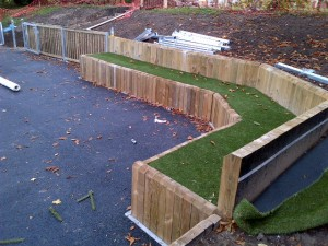 Amphitheater & Outdoor Stages for Playgrounds