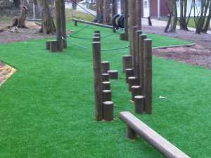 Trim Trail Timber Play Equipment