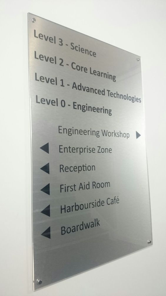 Internal Directional signage