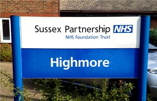 Sussex Partnership Aluminium post and panel sign system