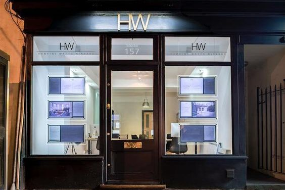 HW estate agents signage