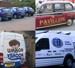 Van Sign Writing & Vehicle Livery
