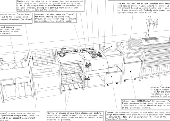 Outstanding Bar Design Plan Images - Best inspiration home design ...
