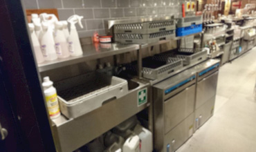 Glasswash Facilities